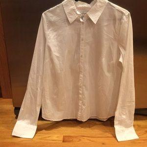 NWOT Aeropostale white button down shirt. Worn 2x